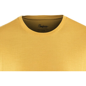 Bergans Oslo Wool Camiseta Hombre, mustard yellow